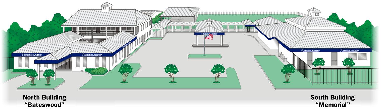 Campus illustration